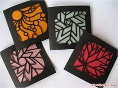 Pretty laser cut cards by Nib & Tuck via Paper Crave. Diy Paper, Paper Art, Paper Crafts, Origami, Diy And Crafts, Arts And Crafts, Creation Deco, Cut Canvas, Art Plastique