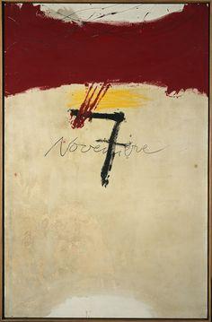 Antoni Tàpies, 7 de novembre, 1971