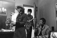 Brian, Keith and Charlie by Gered Mankowitz
