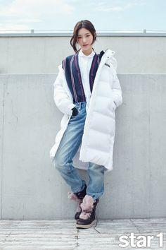 스퀘어 - 정채연 K2 17 F/W 신상 다운 × 앳스타일 화보