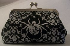 Witch's Spider Clutch by AddyGirlAccessories on Etsy, $30.00