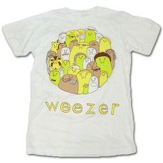 weezer t-shirts