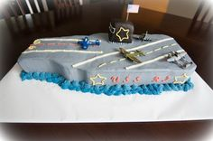 aircraft carrier cake - Google Search