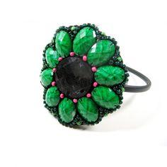 Orient w zieleniach - opaska