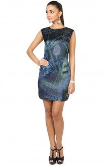 Blue Prints Multicolored Dress  Rs. 2,545