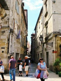 Old Split, Croatia