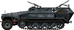 Sd.Kfz.251 Ausf.A with two AA mounts