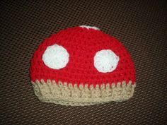 This little beanie is inspired by the Super Mario Bros!
