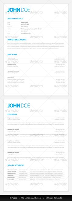 Resume - word 2013 resume template