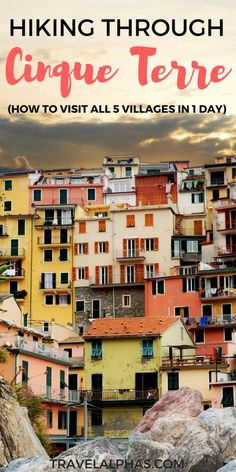 Planning to take a day trip from Florence, Italy? Hiking in Cinque Terre is the perfect choice! Beautiful beaches, colorful houses, hiking trails, and gelato await! And the best part? On this hiking trip, you can visit all five seaside villages in one day.