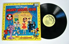 vintage Walt Disney's Mickey Mouse Club record - 33 RPM album - 1975 - 10.00