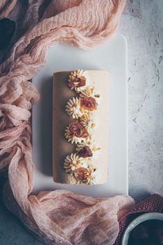 recette de bûche à mousse au marron, framboise - confitbanane Xmas, Christmas, Food Photography, Desserts, Blog, Nouvel An, Hui, Sweet, Tuna Tataki