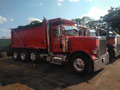 Peterbilt Dump Trucks, Tow Truck, Big Trucks, Logging Equipment, Heavy Construction Equipment, Baggers, Custom Trucks, Buses, Rigs
