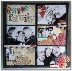 Lisa Dorsey's beautiful family frame