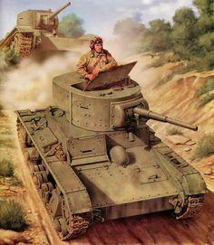 Czołg lekki T-26 model 1933 / light tank T-26 model 1933