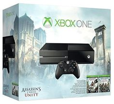 Xbox One Assassin's Creed Unity Bundle – Kinect Sensor Edition Video Games Xbox, Xbox 360 Games, Xbox One S, Xbox Live, Nintendo Ds, Nintendo Switch, Wii U, Pixar, Consoles