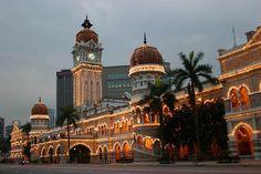 Sultan Abdul Samad Building - Kuala Lumpur, Malasia