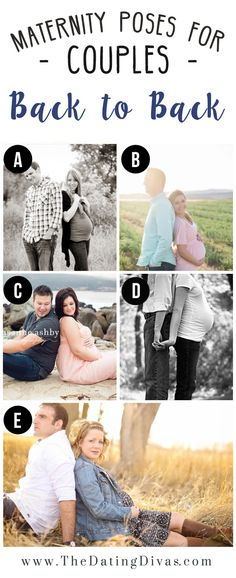 Couple Poses for Maternity Session