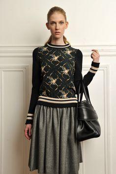 Bouchra Jarrar - Fall 2012 Ready-to-Wear - Look 11 of 12