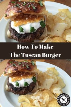 The Tuscan Burger That Might Win Boston Battle of the Burger — Recipe