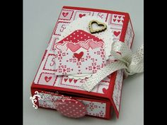 Carte-Boite Stampin'UP!