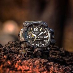 The G-Shock #Mudmaster is mud resistant & equipped with triple sensors. The perfect watch for your next adventure. #tough #gshock