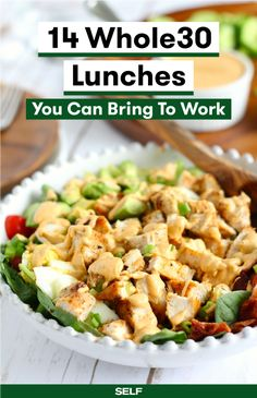 14 Whole30 Lunches You Can bring To Work