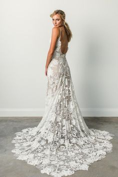 The Rose wedding dress by Grace Loves Lace featured on LOVE FIND CO.