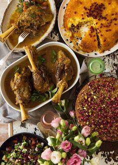 Lamb Recipes, Dinner Recipes, Cooking Recipes, Healthy Recipes, Dessert Recipes, Cheese Recipes, Gourmet Recipes, Persian Lamb Shank Recipe, Iran Food