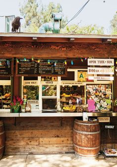 Trails Cafe, LA.  serves a hearty menu of sandwiches, pastries and Stumptown coffee, ideal pre- or post-hike.