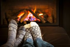 Warming by the fire on these cold Winter nights