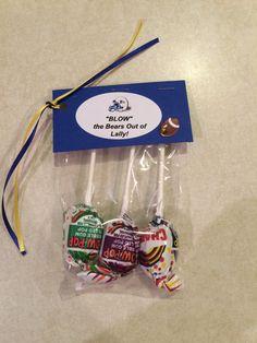 Tootsie Rolls Candy Gram For Senior Week Football