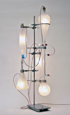 lamp by Rolf Sachs