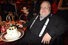 """Game of Thrones"" author George R. R. Martin has a lot to be happy about! Not only did his show snag the top award, Outstanding Drama Series, it was also his birthday! The novelist celebrated his 67th birthday at HBO's Official 2015 Emmy After-Party on Sept. 20, 2015."
