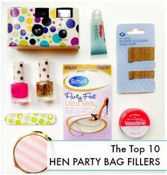 Hen Party Bag Ideas | Top 10 Hen Party Bag Fillers | HenBox