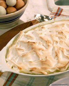 Meringue Topped Rice Pudding Recipe