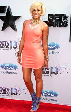 Eve at the 2013 BET Awards