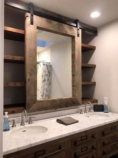 70 Cool Farmhouse Bathroom Makeover Design Ideas 70 Cool Farmhouse Bathroom Makeover Design Ideas 75 Cool Farmhouse Bathroom Remodel Decor Gorgeous Farmhouse Bathroom Decor Ideas Adorable Farmhouse Bathroom Decor Ideas And… Modern Farmhouse Bathroom, Farmhouse Ideas, Farmhouse Style, Small Rustic Bathrooms, Vintage Farmhouse, Rustic Style, Farmhouse Mirrors, Farmhouse Remodel, Farmhouse Layout