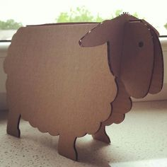 #qbi.design #qbi #qbidesign #home #homeinspiration #interiordesign #diy #ecohomestyle #ecoliving #ecofriendly #eco #cardboard #sheep #lamb