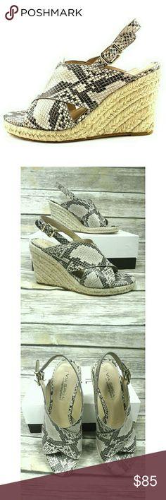 Spotted while shopping on Poshmark: Via Spiga Rosette Esapdrille Slingback Sandals! #poshmark #fashion #shopping #style #Via Spiga #Shoes