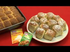 Buchty ako od babičky - YouTube Home Baking, Mexican Food Recipes, French Toast, Bread, Breakfast, Morning Coffee, Mexican Recipes, Brot, Baking