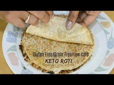 Keto flat bread, roti or tortilla. Whatever you call it, is sucha game changer. Low Carb Bread, Low Carb Keto, Low Carb Recipes, Healthy Recipes, Keto Vegan, Vegetarian Keto, Vegetarian Burrito, Paleo, Keto Foods