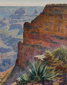 Things of beauty I like to see — Gunnar Widforss (1879-1934) - Grand Canyon,...