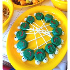 Made these double stuff frog Oreos for my son's 1st birthday party, a hit & so delicious!
