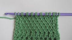 Slanted Tunisian Stitch