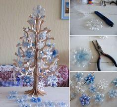 5 Creative Plastic Bottle Christmas Craft Ideas - http://www.amazinginteriordesign.com/5-creative-plastic-bottle-christmas-craft-ideas/