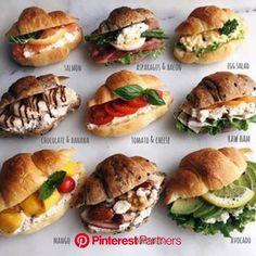 健康的な食事 健康的な食事 in 2020 Gourmet Sandwiches, Party Sandwiches, Breakfast Sandwiches, Cafe Food, Food Menu, Catering Menu, Brunch Recipes, Breakfast Recipes, Breakfast Ideas