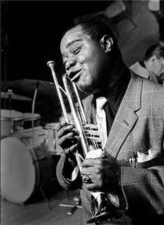 Louis Armstrong, Paris, France, 1960