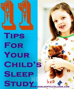 11 Tips to Prepare Your Child for a Hospital Sleep Study #toddlers #sleepapnea #sleep