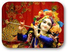 Yesterday's Darshan Sri Sri Krishna @ISKCONNVCC, Pune